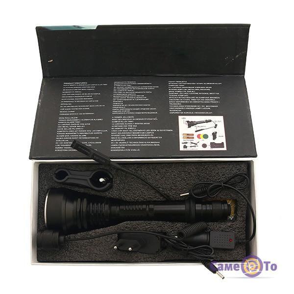 Підствольний ліхтар Bailong Police BL-Q2805 XM-L2 U2 50000W