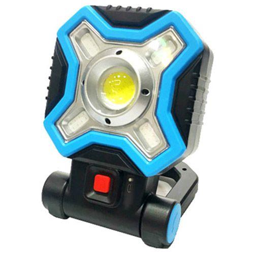 Прожектор светодиодный HB-9957-COB(1+4) WHITE+RED
