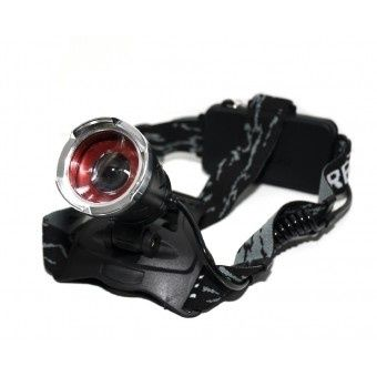 Налобный фонарь Bailong Police BL-5866-2 + Ультрафиолет