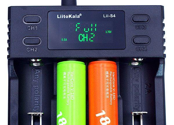 Зарядний пристрій LiitoKala Lii-S4