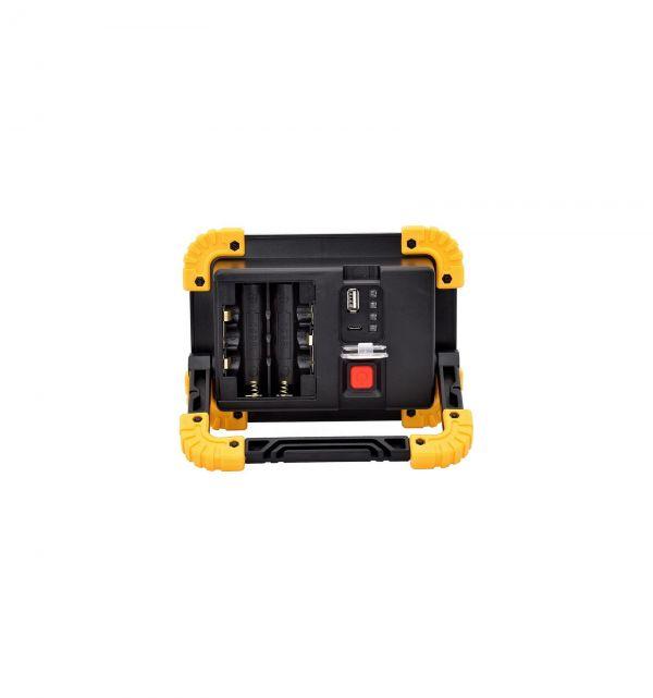 Прожектор світлодіодний LL812-20W-2COB+1W