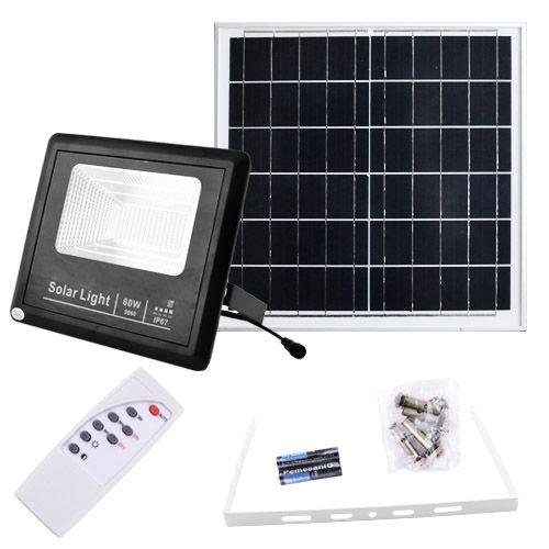 Прожектор 9060 60W SMD, IP67, солнечная батарея