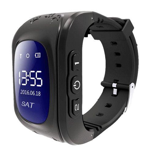 Smart годинник дитячій с GPS Q50-1, Black