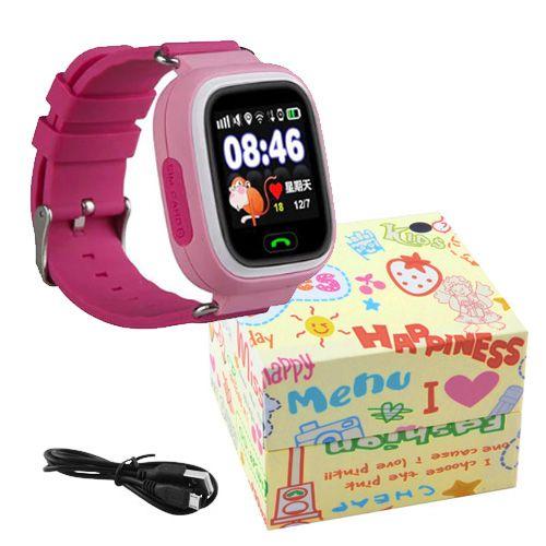 Smart часы детские с GPS Q90 Pink