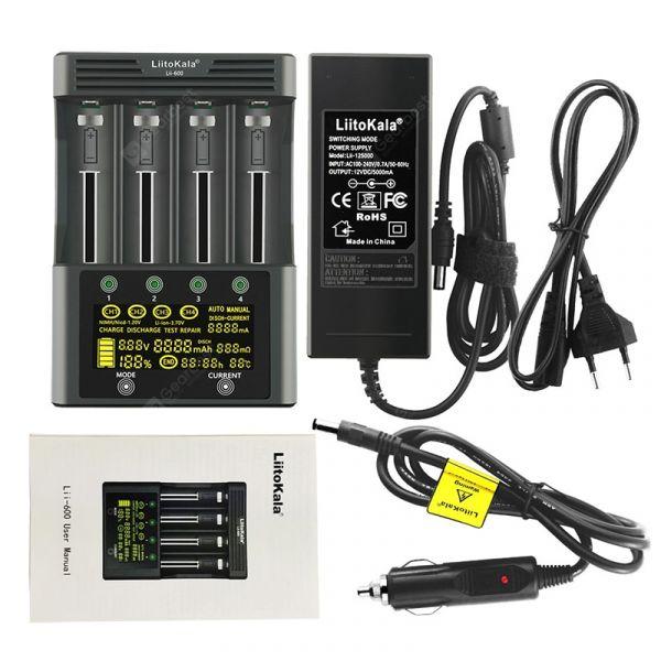 Зарядний пристрій LiitoKala Lii-600