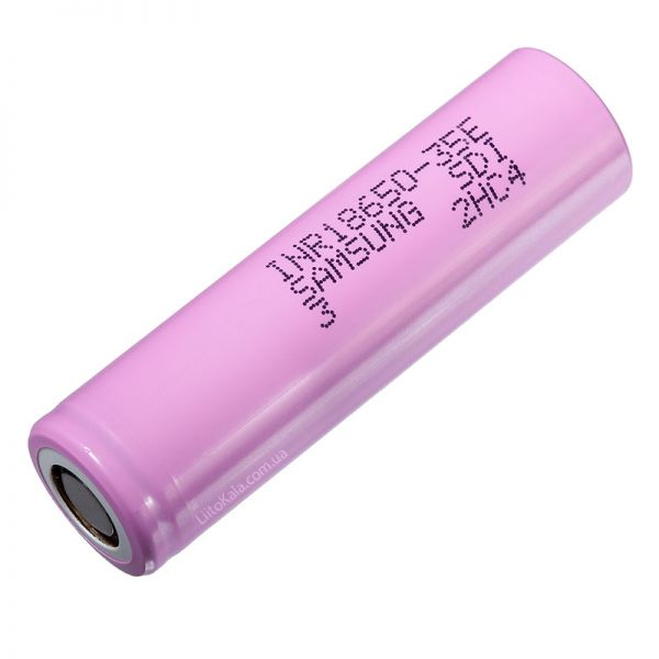 Аккумулятор 18650 Samsung 35E 3500 Mah
