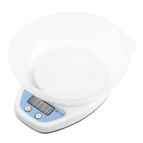 Весы кухонные QZ-129, 5кг (1г), чаша