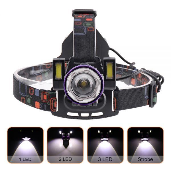 Налобный фонарь Police BL-XQ-167