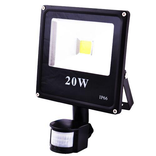 Прожектор світлодіодний матричний SLIM YT-20W Sensor SMD