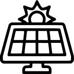 <p>Возможность зарядки от солничной панели.</p>